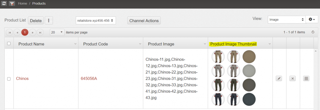 Add bulk product images Agiliron