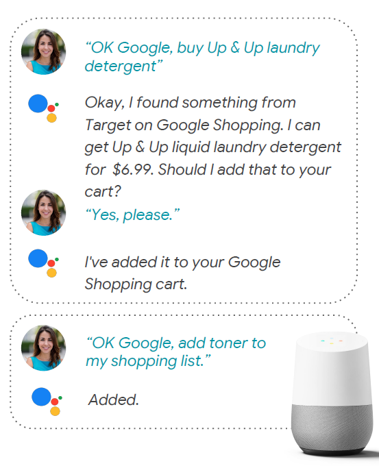 Google Assistant Shopping Actions